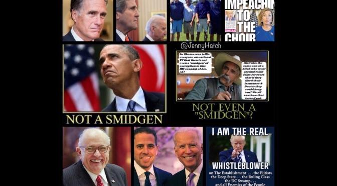 Not a Smidgen! @JennyHatch #QAnon